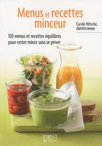 Carole Nitsche - Menus et recettes minceur.