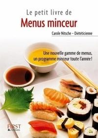 Carole Nitsche - Menus Minceur - Tome 2.