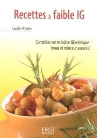 Carole Nitsche - Recettes à faible indice glycémique.