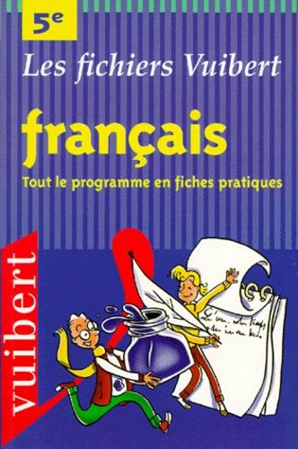 Francais 5eme Tout Le Programme En Fiches Pratiques