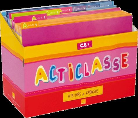 Carole Tisset - Acticlasse CE1 - Ateliers de français 6 élèves.