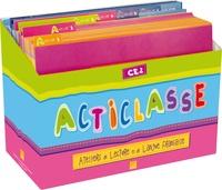Carole Tisset - Acticlasse CE2 Cycle 3 Niveau 1 - Pack Atelier 6 élèves.