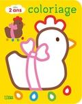 Carole Wey - Joyeuses Pâques ! - Coloriage dès 2 ans.