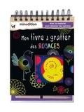 Carolin Hensler - Mon livre à gratter des rosaces - Avec le matériel pour dessiner des spirales.