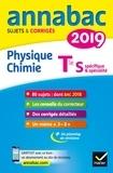 Caroline Adam et Jérôme Fréret - Annales Annabac 2019 Physique-chimie Tle S - sujets et corrigés du bac   Terminale S.