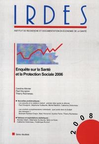 Caroline Allonier et Paul Dourgnon - Enquête sur la santé et la protection sociale 2006.