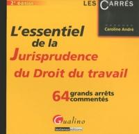 Caroline André - L'essentiel de la jurisprudence du droit du travail.