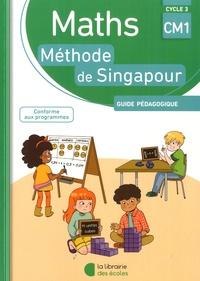 Caroline André et Sylvia Caira - Maths CM1 Cycle 3 - Guide pédagogique.