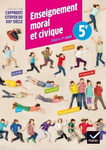 Caroline Barideau et Dominique Dubois - Enseignement moral et civique 5e.