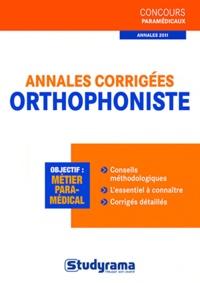Caroline Binet - Annales corrigées orthophoniste.