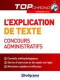 Caroline Binet - L'explication de texte, concours administratifs - Catégories  C et B.