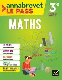 Caroline Bureau et Jean-Pierre Bureau - Annabrevet Le Pass - Maths 3e.