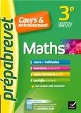 Caroline Bureau et Jean-Pierre Bureau - Maths 3e - Prépabrevet Cours & entraînement - cours, méthodes et exercices progressifs.