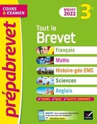 Caroline Bureau et Jean-Pierre Bureau - Prépabrevet Tout le brevet 3e Brevet 2022 - pour réussir sa 3e et son brevet.
