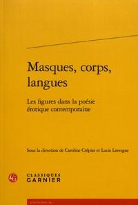 Galabria.be Masques, corps, langues - Les figures dans la poésie érotique contemporaine Image