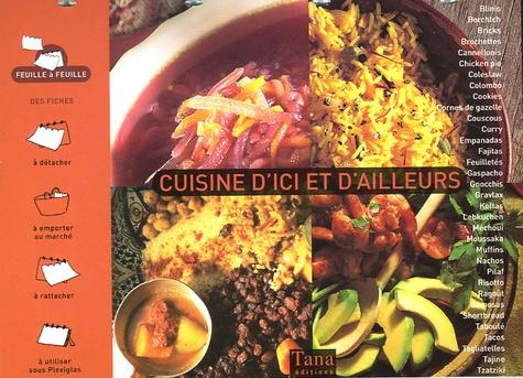 Caroline Darbonne et Christophe Valentin - Cuisine d'ici et d'ailleurs.
