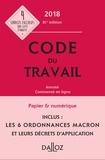 Caroline Dechristé et Christophe Radé - Code du travail 2018, annoté et commenté en ligne.
