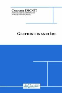 Caroline Emonet - Gestion financière.