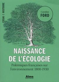 Deedr.fr Naissance de l'écologie - Les polémiques françaises sur l'environnement (1800-1930) Image