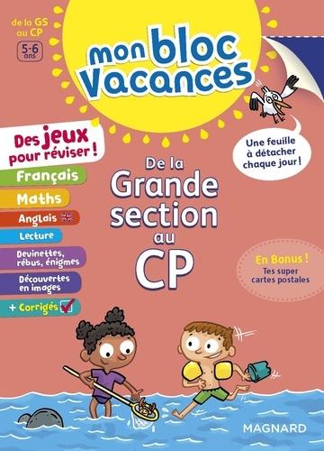 Mon Bloc Vacances De La Grande Section Au Cp Grand Format