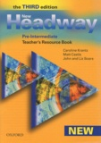 Caroline Krantz et Matt Castle - New Headway Pre-Intermediate - Teacher's Resource Book.