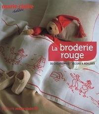 Caroline Lancrenon - Broderie rouge.