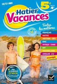 Cahier de Vacances 5e vers la 4e - Toutes les matières.pdf