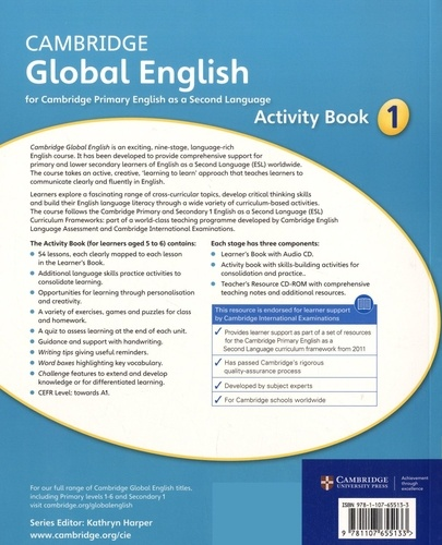 Cambridge Global English Stage 1. Activity Book