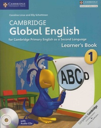 Caroline Linse et Elly Schottman - Cambridge Global English - Learner's Book 1. 2 CD audio