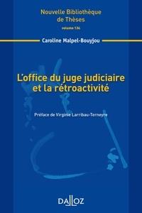 Loffice du juge judiciaire et la rétroactivité.pdf