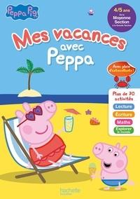 Caroline Marcel - Mes vacances avec Peppa - De la moyenne section à la grande section.