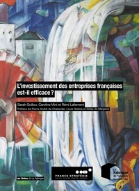 Caroline Mini et Sarah Guillou - L'investissement des entreprises françaises est-il efficace ?.