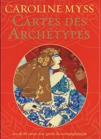 Caroline Myss - Cartes des archétypes - Jeu de 80 cartes avec guide d'accompagnement.