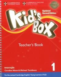 Caroline Nixon et Michael Tomlison - Kid's Box 1 Teacher's Book British English.