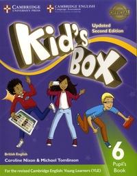 Caroline Nixon et Michael Tomlinson - Kid's box 6 - Pupil's book British english.