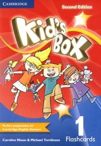 Caroline Nixon et Michael Tomlinson - Kid's Box Level 1 Flashcards.