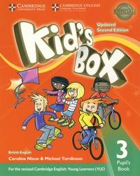 Caroline Nixon et Michael Tomlinson - Kid's Box Level 3 - Pupil's Book British English.