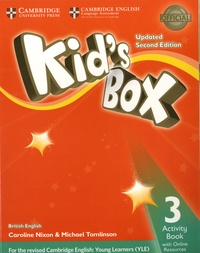 Histoiresdenlire.be Kid's Box Level 3 - Activity Book with Online Resources British English Image