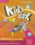 Caroline Nixon et Michael Tomlinson - Kid's Box Starter Class Book. 1 Cédérom