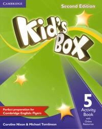 Caroline Nixon et Michael Tomlinson - Kid's Box - Activity Book 5.