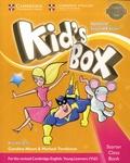 Caroline Nixon et Michael Tomlinson - Kid's Box - Starter Class Book with CD-ROM. 1 CD audio