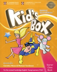 Accentsonline.fr Kid's Box - Starter Class Book with CD-ROM Image