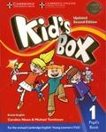 Caroline Nixon et Michael Tomlinson - Kid's Box - Pupil's Book 1 - British English.