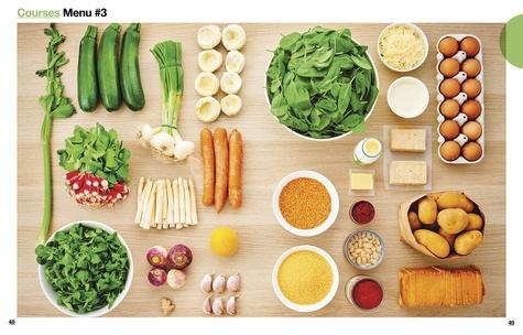 En 2h je cuisine veggie pour toute la semaine. 80 menus fait maison, sans gâchis et avec des produits de saison