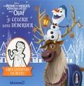 Caroline Petit - Je colorie sans déborder La Reine des Neiges - Joyeuses Fêtes avec Olaf.