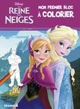 Caroline Petit et  Disney - La reine des neiges - Mon premier bloc à colorier.