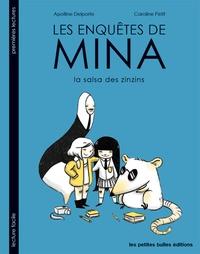 Caroline Petit et Apolline Delporte - Les enquêtes de Mina - La salsa des zinzins.