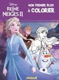 Caroline Petit - Mon premier bloc à colorier Disney La reine des neiges II.