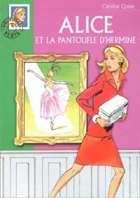 Alixetmika.fr Alice et la pantoufle d'hermine Image
