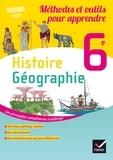 Caroline Ravinal et Laurent Ravinal - Histoire-Géographie 6e - Méthodes et outils pour apprendre.